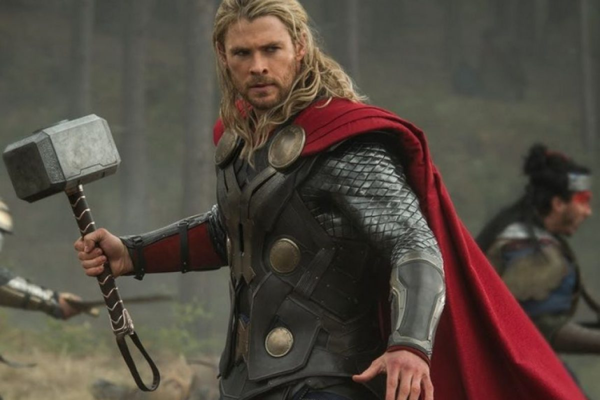 1. Chris Hemsworth Foto: Avengers Facebook