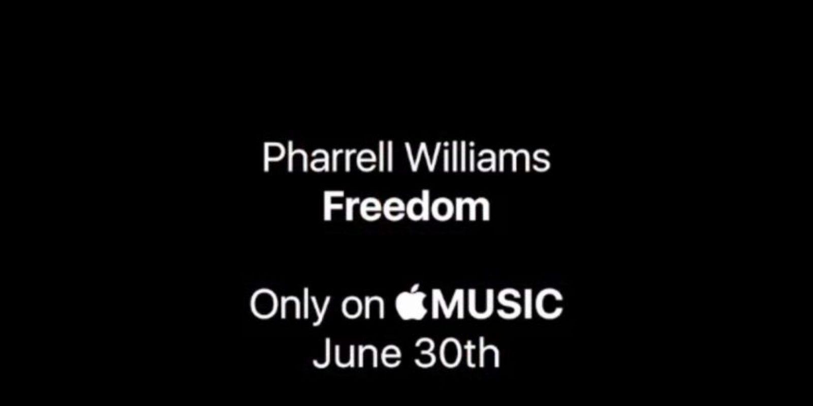 En el que pueden escuchar cómo suena este nuevo track Foto:instagram.com/pharrell/