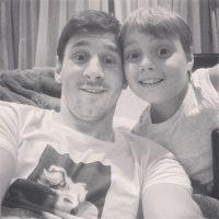2. Su sobrino, el otro Messi del Barcelona Foto:Vía instagram.com/leomessi