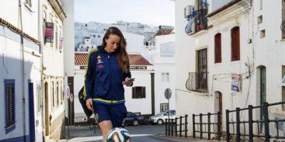 La delantera sueca es el arma gol de su selección Foto:Vía twitter.com/asllani9