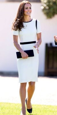 3. Kate Middleton. Foto: vía Getty Images