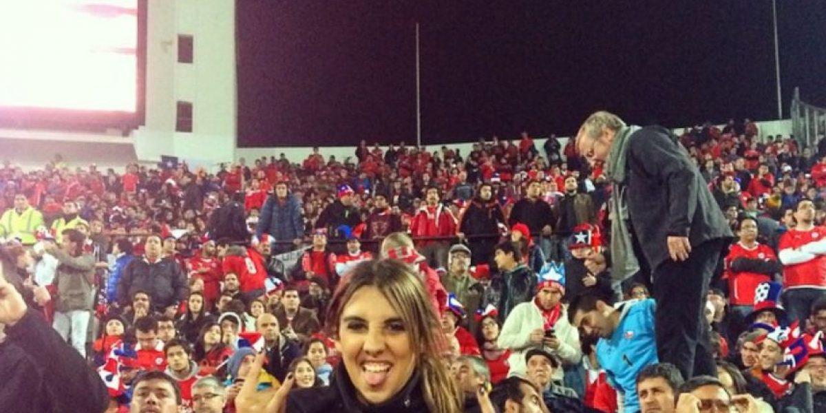 FOTOS: Las aficionadas más guapas del partido Chile vs. Uruguay