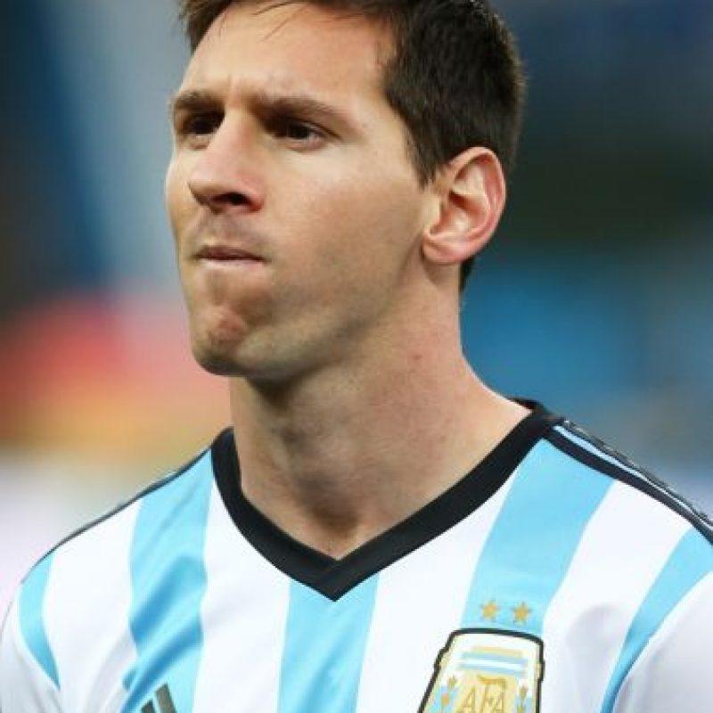 Y ese llevó durante el Mundial de Brasil 2014. Foto:Getty Images