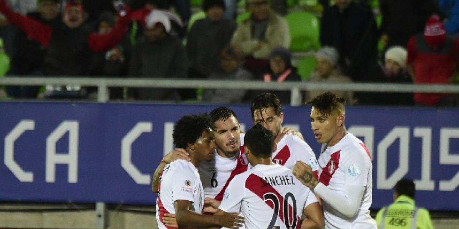 Terminaron como segundo del grupo, detrás de Brasil Foto:AFP