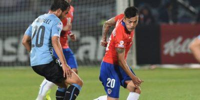 La selección de Chile consiguió su pase a las semifinales con su victoria contra su similar de Uruguay. Foto:AFP