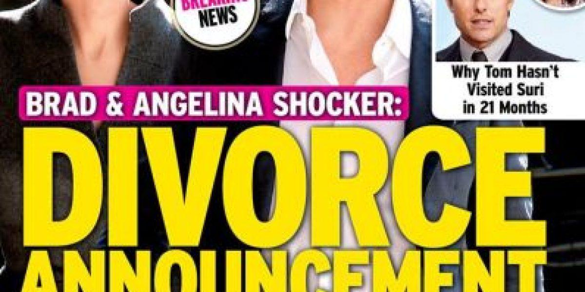 Aseguran que Angelina Jolie y Brad Pitt están al borde del divorcio