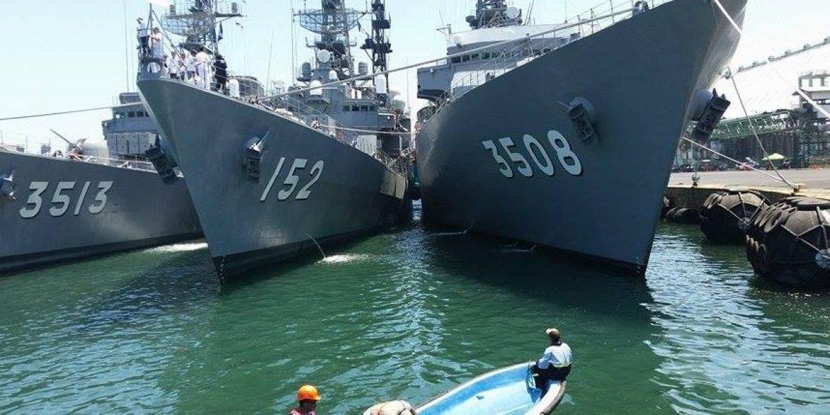 EN IMÁGENES. Conoce el escuadrón de entrenamiento de Japón que visitó al país
