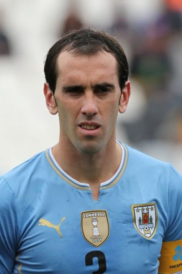 DEFENSAS: Diego Godín Foto: Getty Images