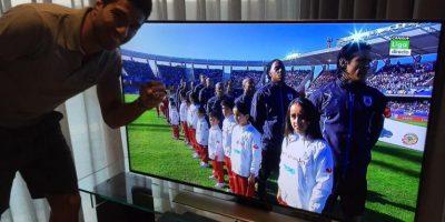 SIn jugar, Suárez se mantuvo como causante de polémica en la Copa América. Foto:Twitter