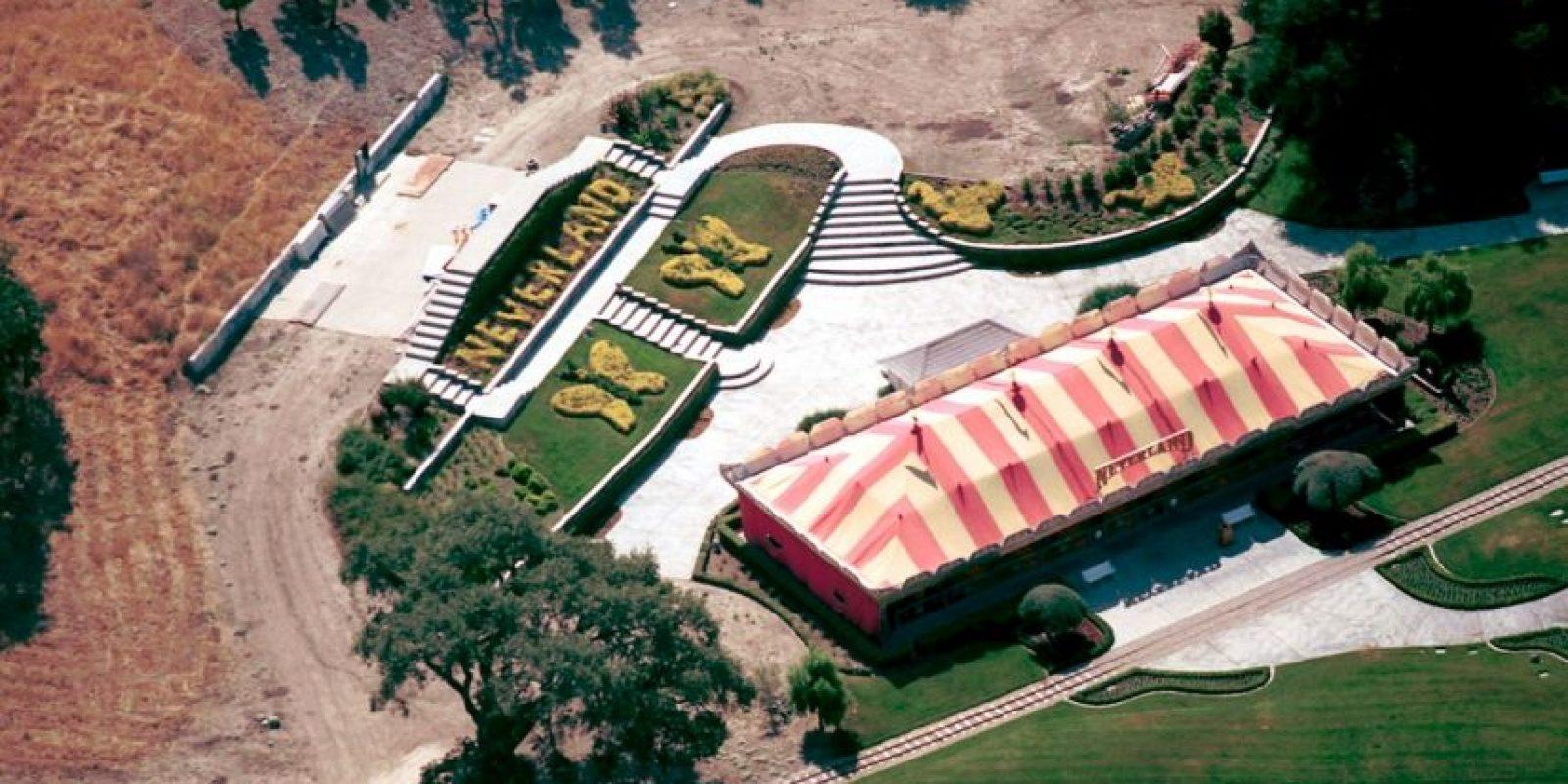 """1.- Así era """"Neverland"""", el rancho de Jackson convirtió en un parque de diversiones. Foto:Getty Images"""