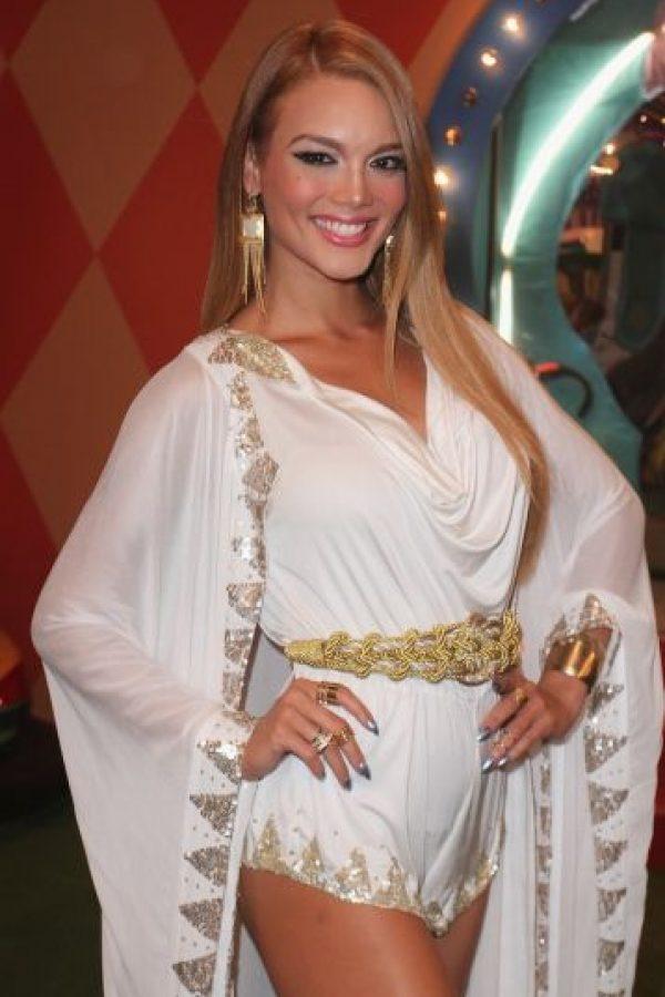 La modelo y Miss Universo 2006, Zuleyka Rivera, canceló su participación en el show del 12 de julio. Foto:Getty Images