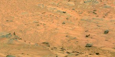 Fotografía original de la NASA, tomada por el explorador Spirit. Foto:NASA. Foto original http://photojournal.jpl.nasa.gov/jpeg/PIA10214.jpg