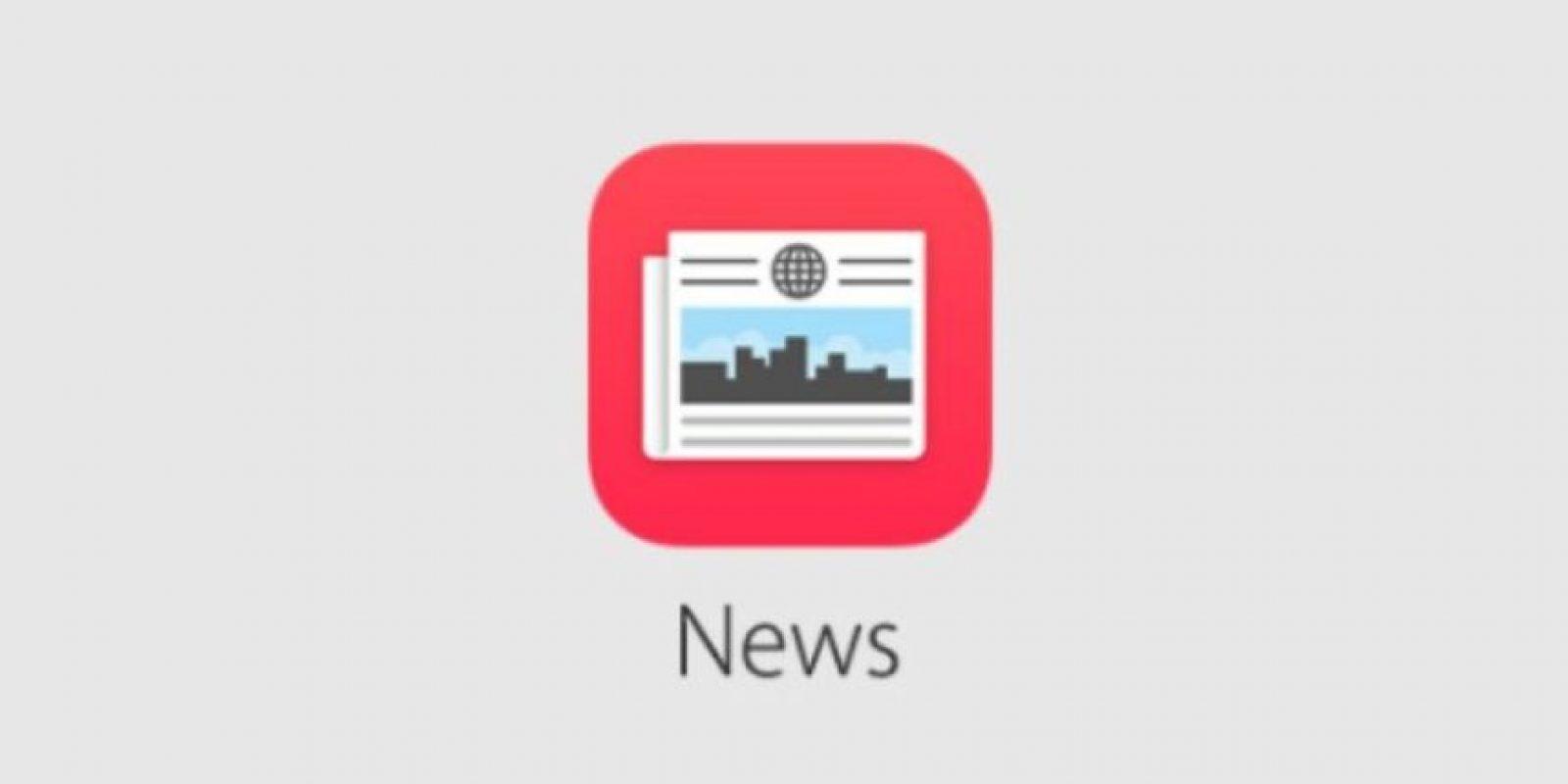 News: aplicación para leer artículos y noticias al instante. Foto:Apple