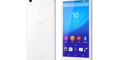 Sony Xperia Z4 Aqua Foto:Sony