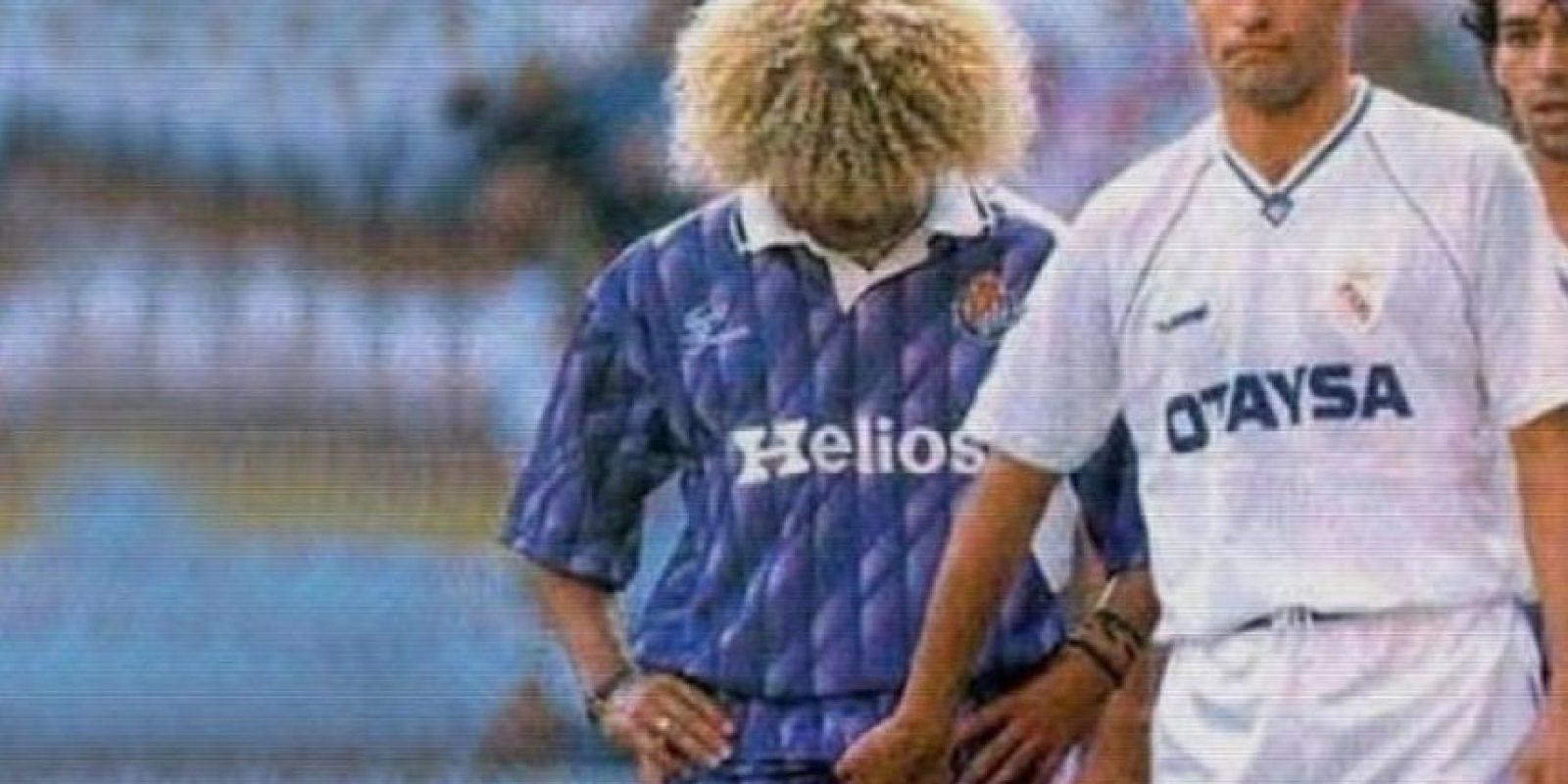 """Durante todo el partido, el colombiano, que jugaba para Valladolid, se la pasó insultado y provocando a Michel González, del Real Madrid. El mediocampista """"merengue"""" respondió tocándole los testículos al """"Pibe"""", quien nuevamente insultó a González. Al final, el castigado fue para el madridista. Foto:futbolmundiario.com"""