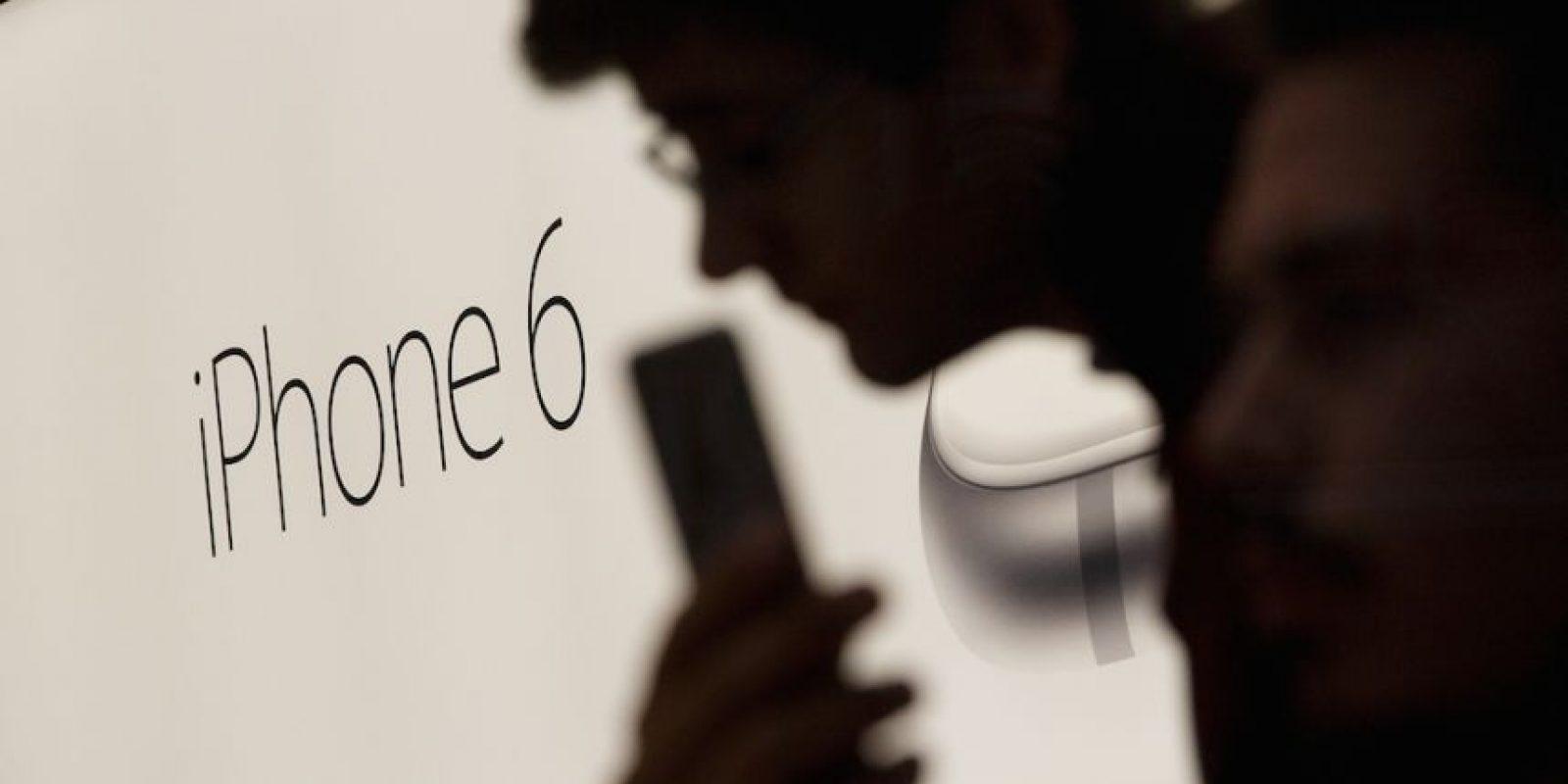 iPhone 6 fue presentado en septiembre pasado por Apple. Foto:Getty Images
