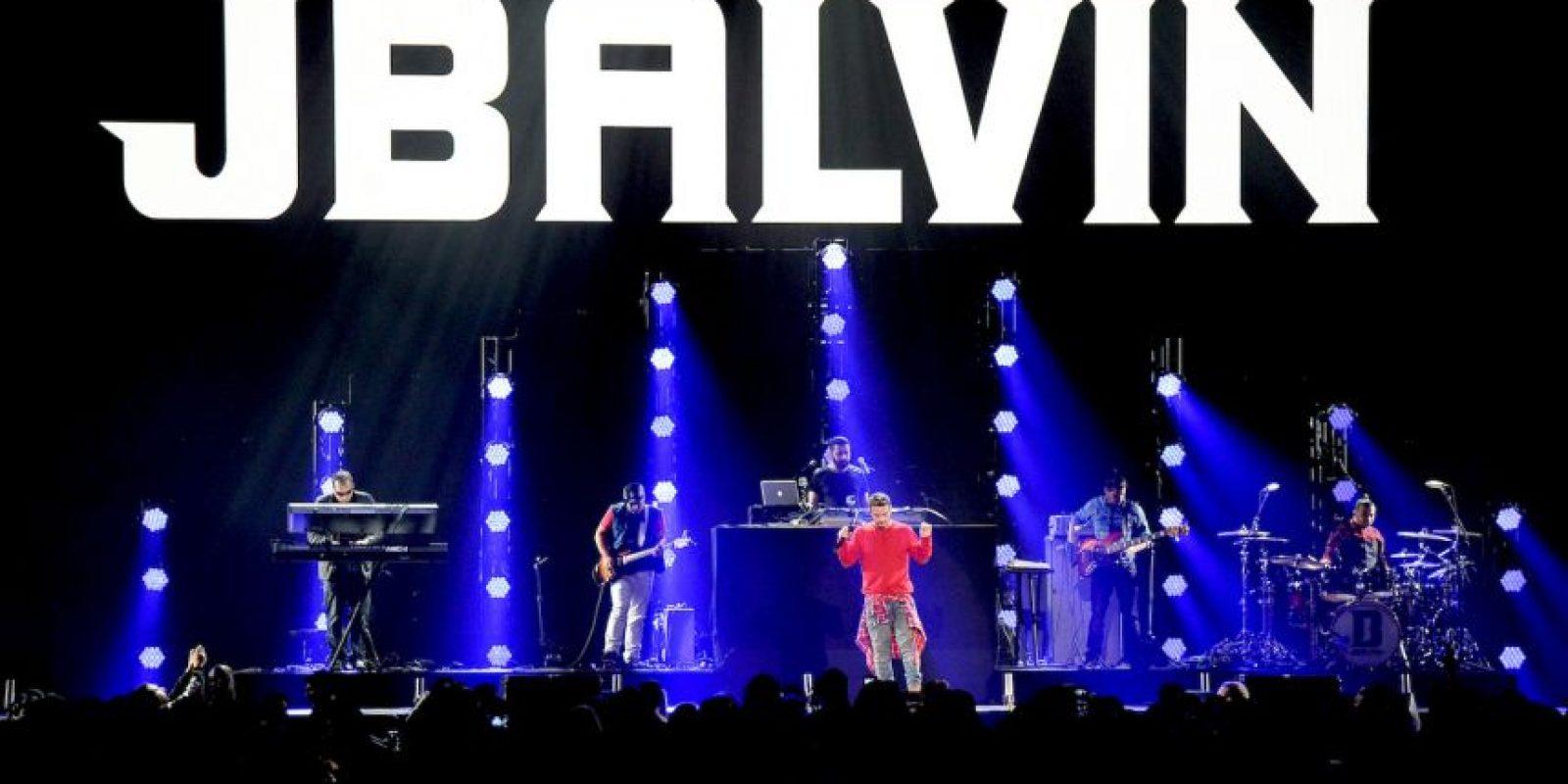 """El cantante colombiano, J Balvin, canceló su actuación en el concurso """"Miss USA"""". Foto:Getty Images"""