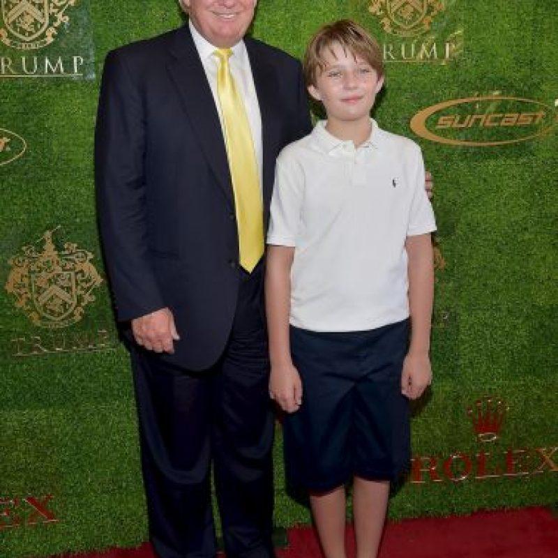 Apenas tiene 9 años. Foto:Getty Images