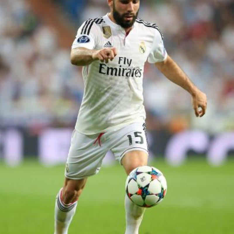 18. Dani Carvajal: 1.2 millones de euros. Foto:Getty Images
