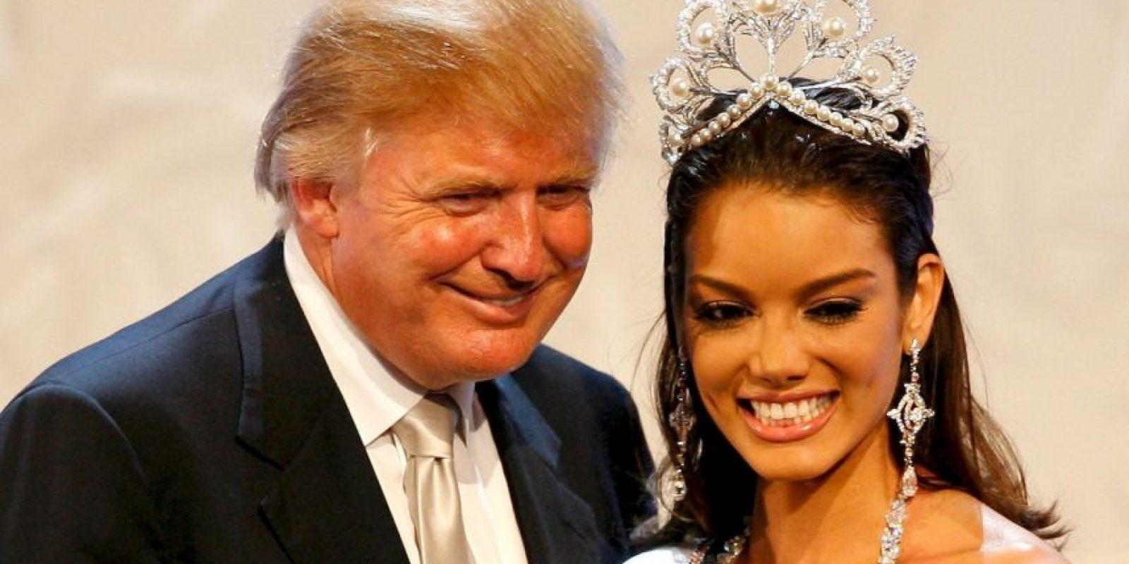 """La Miss Universo 2006 dijo sentirse """"dolida"""" a raíz de los comentarios de Donald Trump Foto:Getty Images"""