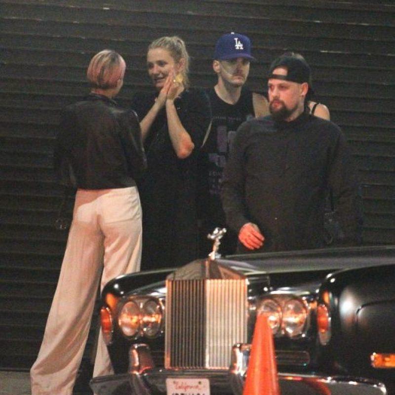 La pareja se casó en Beverly Hills. Foto:Grosby Group