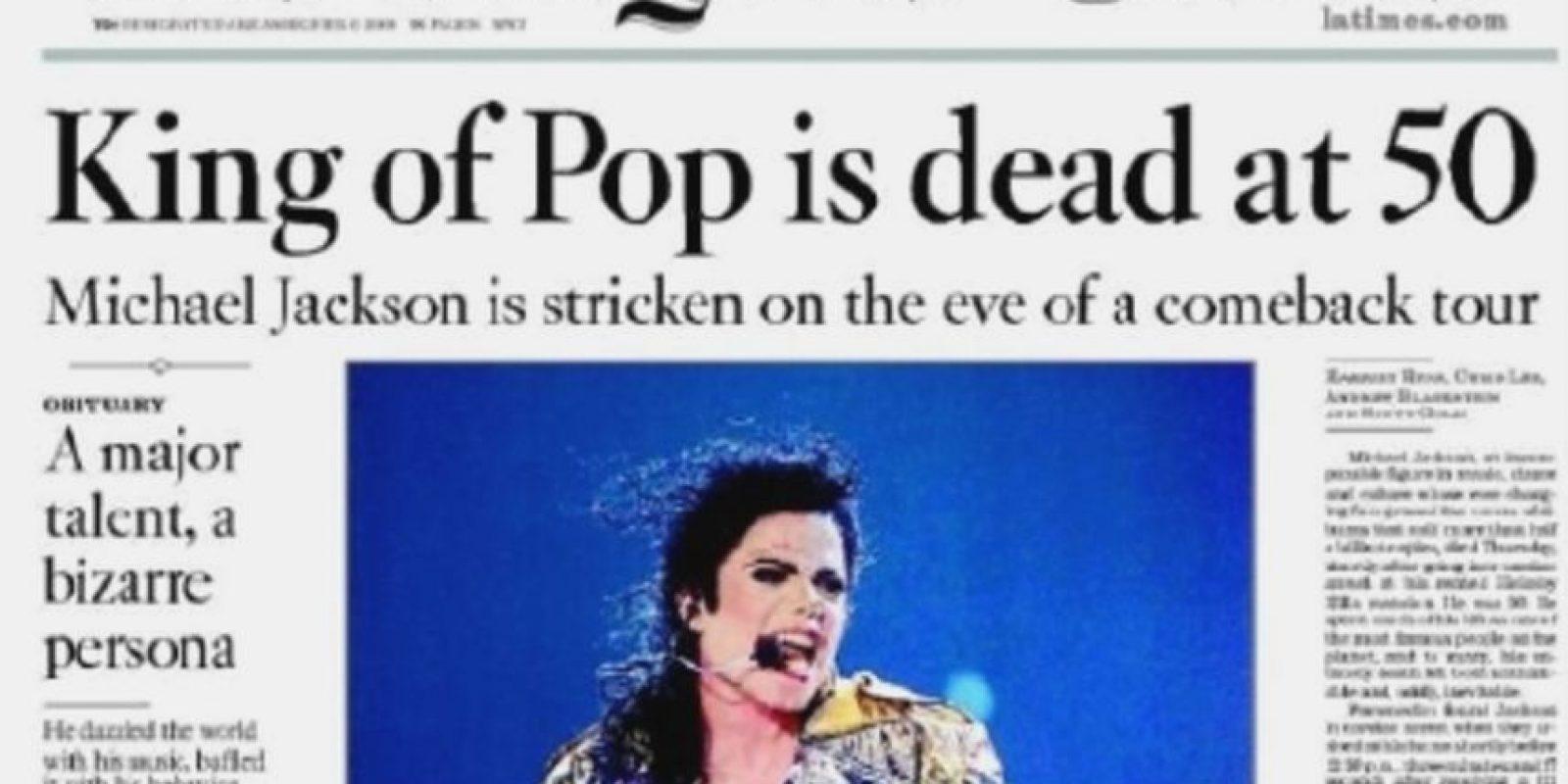 """Foto:Periódico """"Los Ángeles Times"""""""