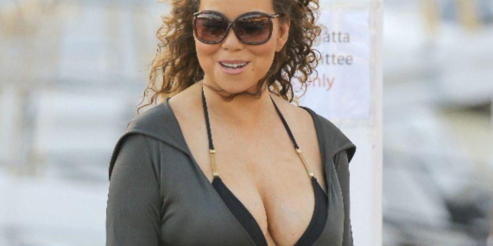 Eso ni le cierra a Mariah Carey. Foto:vía Getty Images