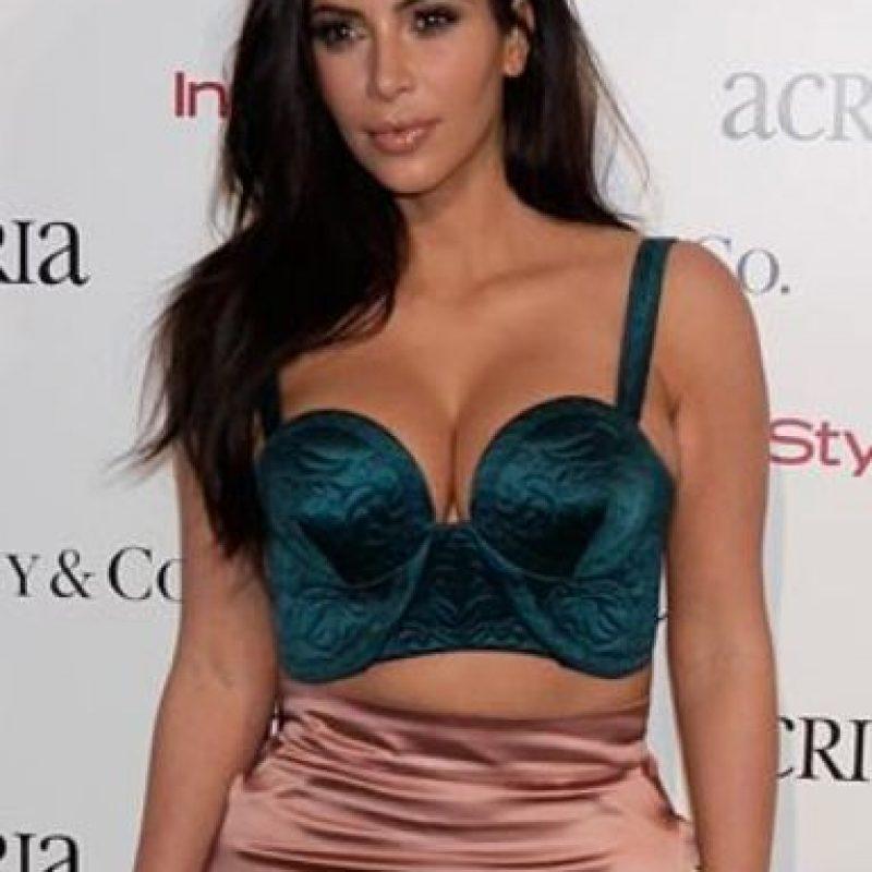 A todos les dio un dolor horrible en el vientre cuando vieron así a Kim Kardashian. Foto:vía Getty Images