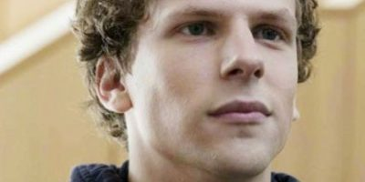 "Jesse Eisenberg interpretó a Mark Zuckerberg en ""La red Social"", en 2010. Foto: vía Sony Pictures"