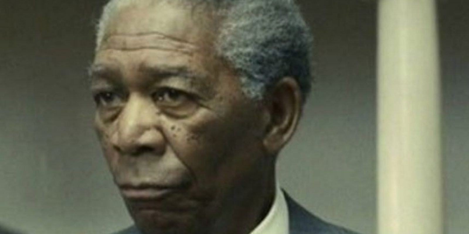 "Morgan Freeman interpretó a Nelson Mandela en ""Invictus"", en 2009. Foto: vía Warner Bros"