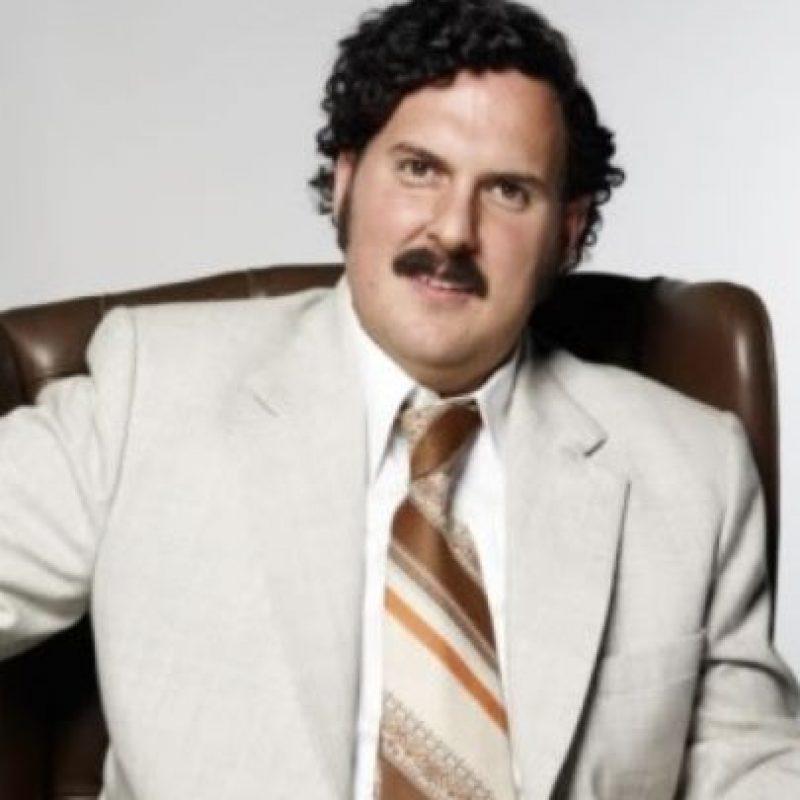 """Andrés Parra interpretó a Pablo Escobar en """"Escobar, el patrón del mal"""". Foto:vía Caracol Televisión"""