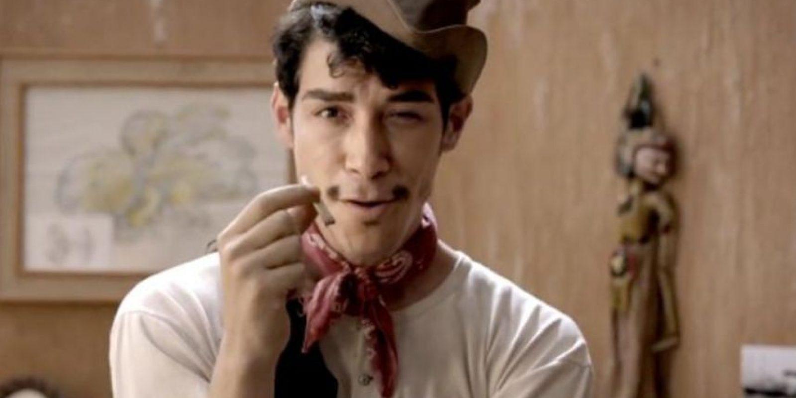 """Óscar Jaenada interpretó a """"Cantinflas"""" en 2014. Foto:vía Kenio Films"""