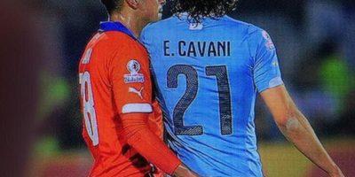 Por esta razón el delantero de Uruguay perdió la cabeza Foto:Twitter