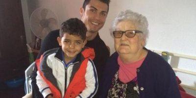 """A """"CR7"""" también le dolió la partida de su abuela. Foto:Vía instagram/cristiano"""