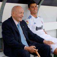 Y el fallecimiento de Alfredo Di Stéfano, a ambos los recordó en las redes sociales. Foto:Vía instagram/cristiano
