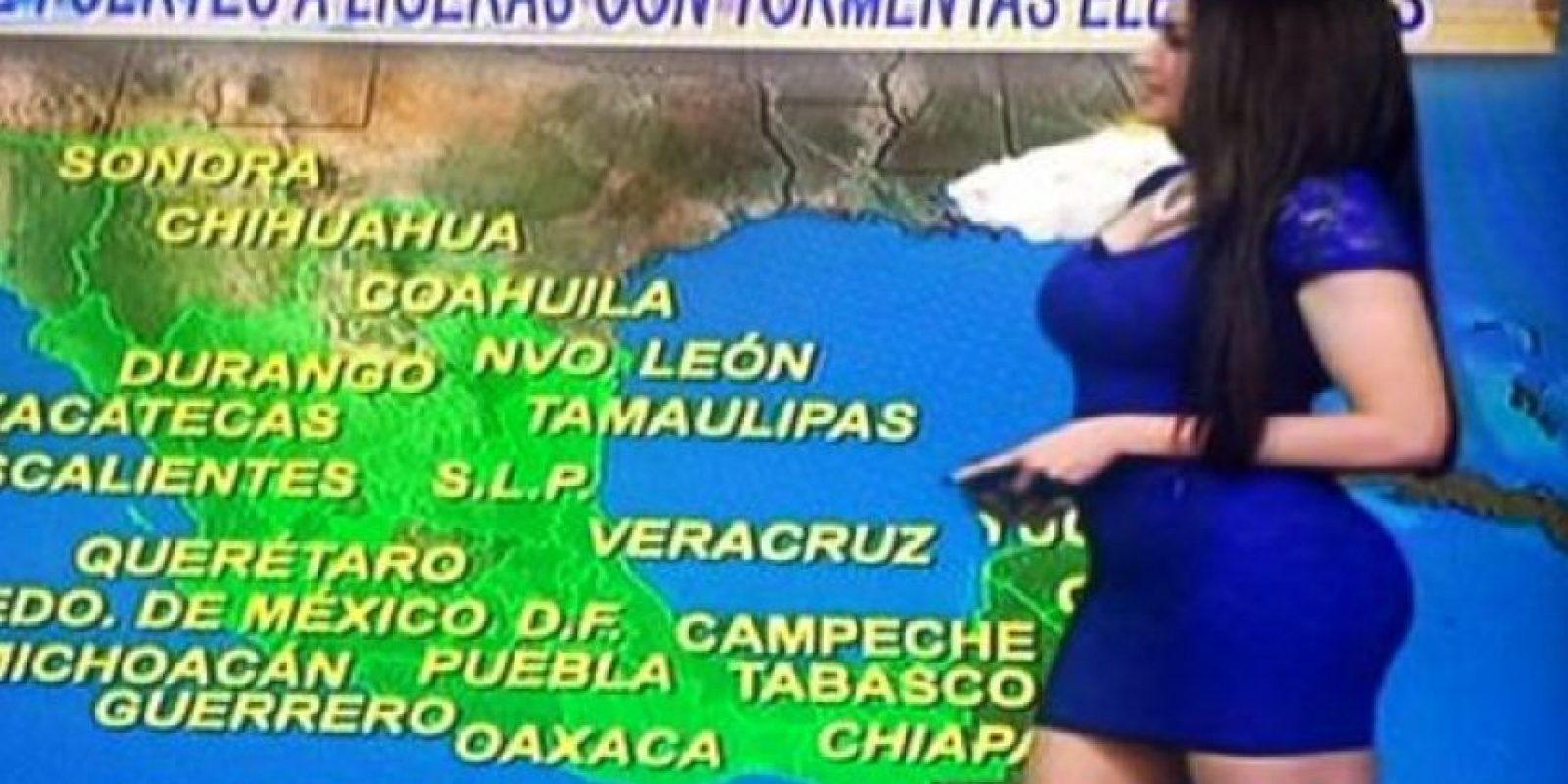 """Es conductora y cantante en Televisa para el programa """"Foro TV"""". Foto:Vía Twitter/@Mayte_Carranco"""