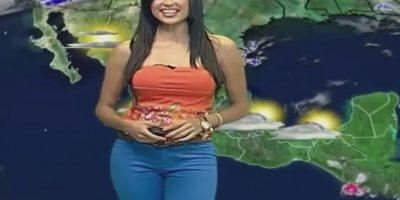 """Es presentadora del tiempo en el programa """"Guadalajara Noticias"""" en México Foto:Vía Twitter/@Susyalmeida1"""