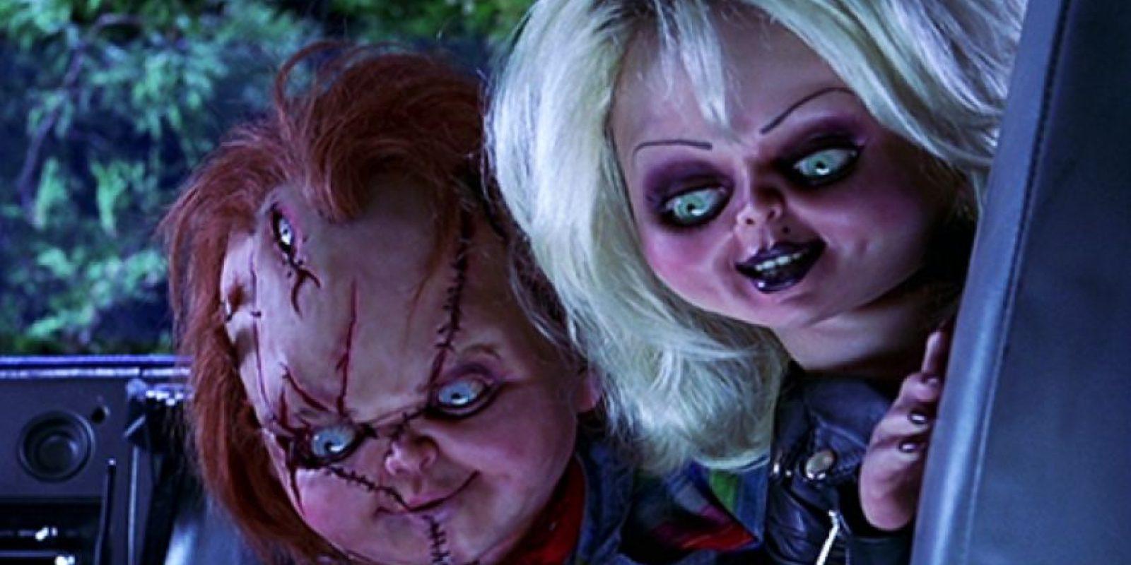 Peor cuando vino Tiffany. Y cuando Tiffany da a luz a otro muñeco con colmillos antes de morir. ¡Ay! Foto:vía MGM