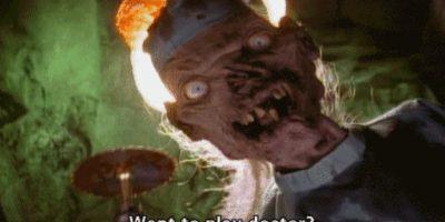 """El que contaba las historias en """"Cuentos de la Cripta"""". Hasta parecía amable la calaca, pero era espantosa. Foto:vía Nickelodeon"""