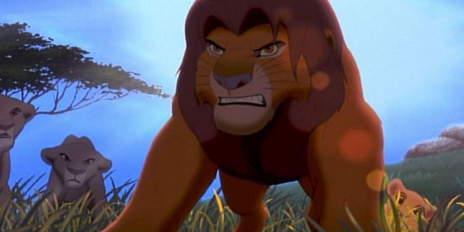 Y que no tengan en cuenta que es un animal… Foto:vía Disney