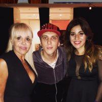 """En Argentina aseguran que el cantante """"El Polaco"""" es pareja de la hija menor de Diego Maradona, Giannina. Foto:Vía instagram.com/gianmaradona"""