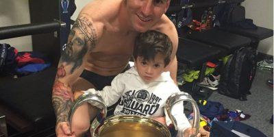 En la galería de fotos, las mejores imágenes de Lionel Messi con su hijo Thiago. Foto:Vía instagram.com/leomessi