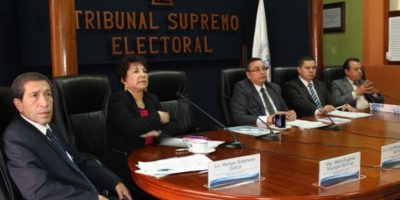 El TSE confirma que elecciones se realizarán el 6 de septiembre