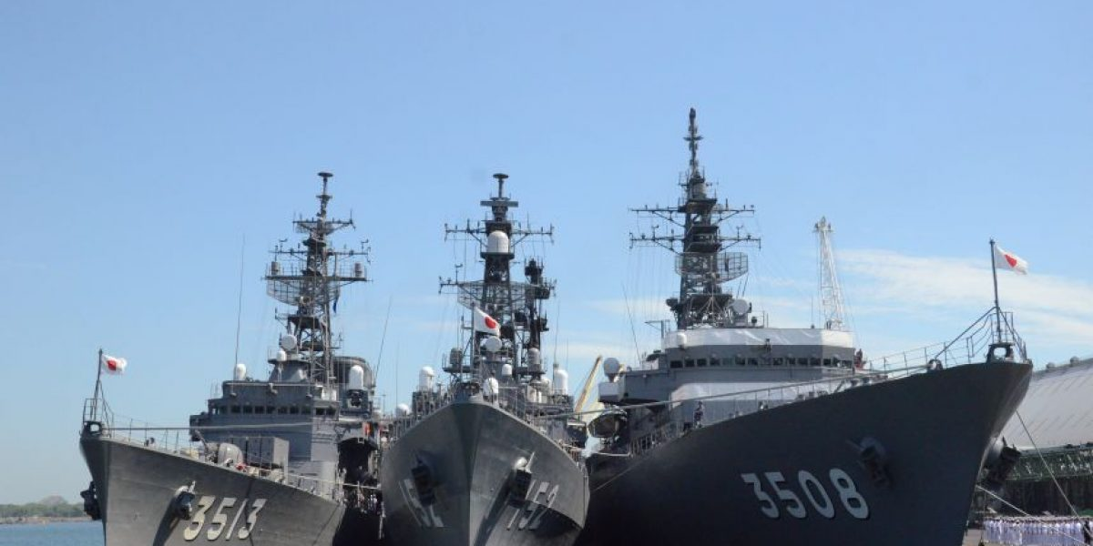 Los tres buques de Japón estarán en el país hasta el domingo, entérate por qué