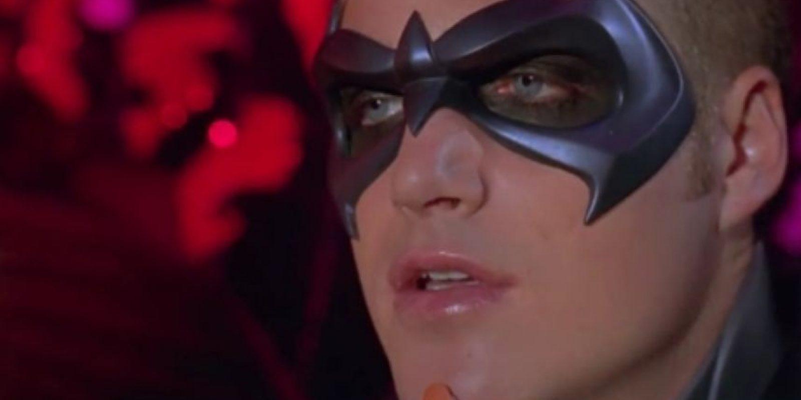 """7. Chris O'Donnell en """"Batman y Robin"""" (1997). Foto:vía Warner Bros"""