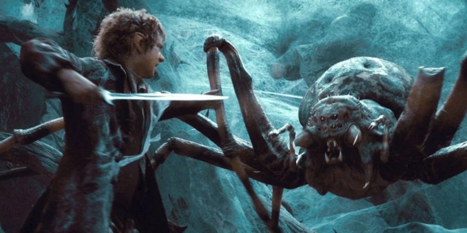 Eso jamás lo pensarán al verlas. De hecho, toda araña que se encuentren será así para ustedes. Foto:vía Warner Bros