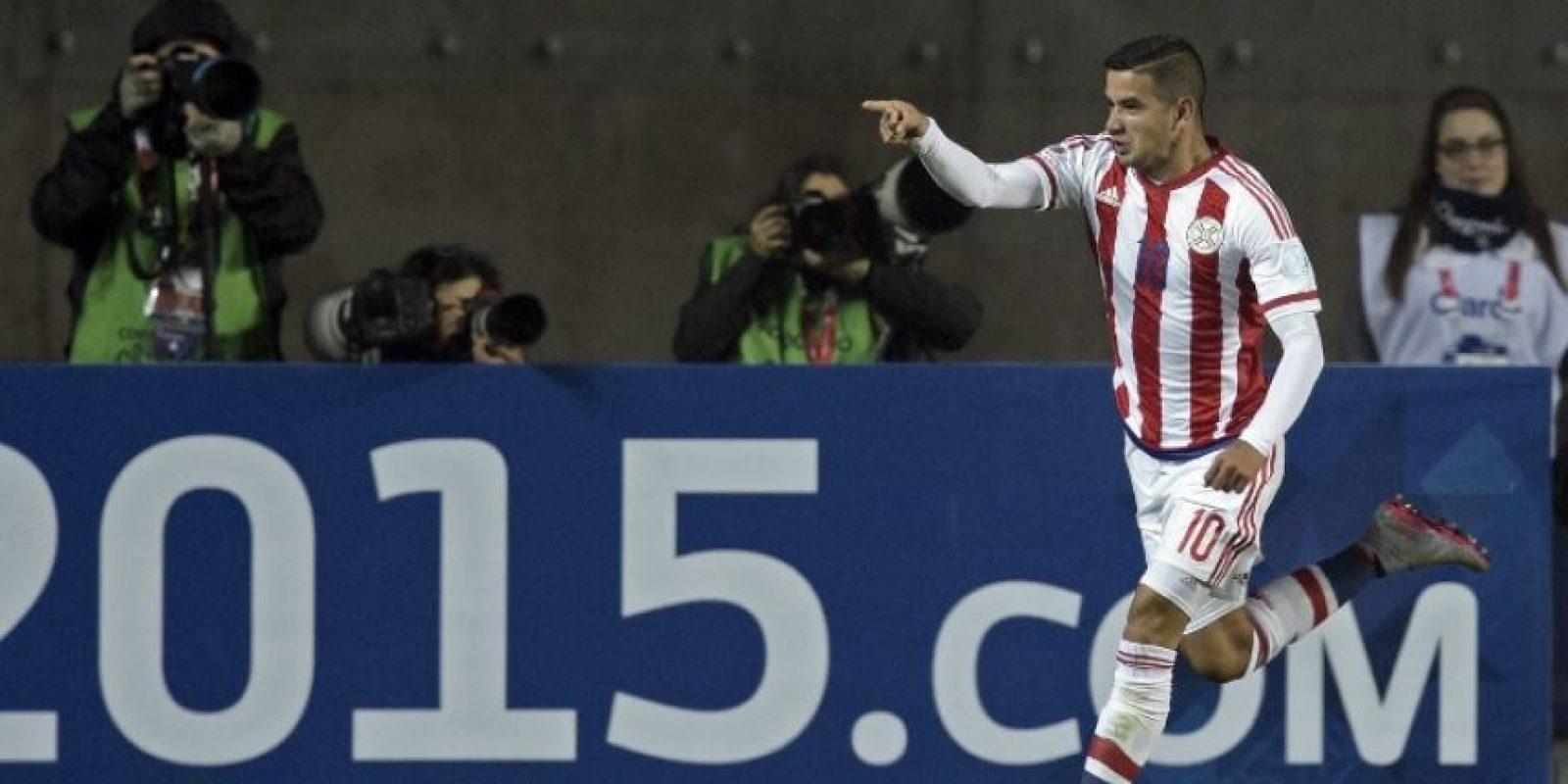 Paraguay volverá a verse las caras en este torneo contra Argentina con el que empató 2-2 en la fase de grupos. Foto:AFP