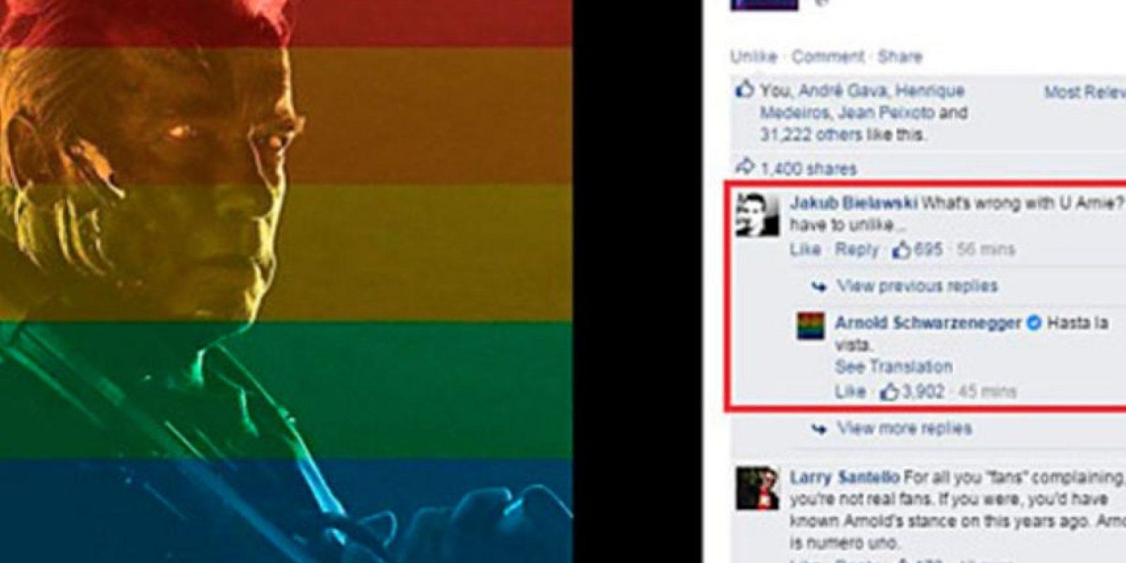 El usuario tuvo que borrar su comentario. Foto:vía Facebook