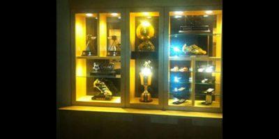 A lo que Michael Owen le contestó con todos sus trofeos. Foto:vía Twitter