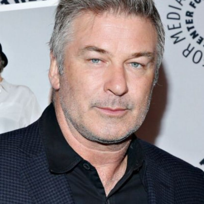 12. Alec Baldwin. Foto: vía Getty Images